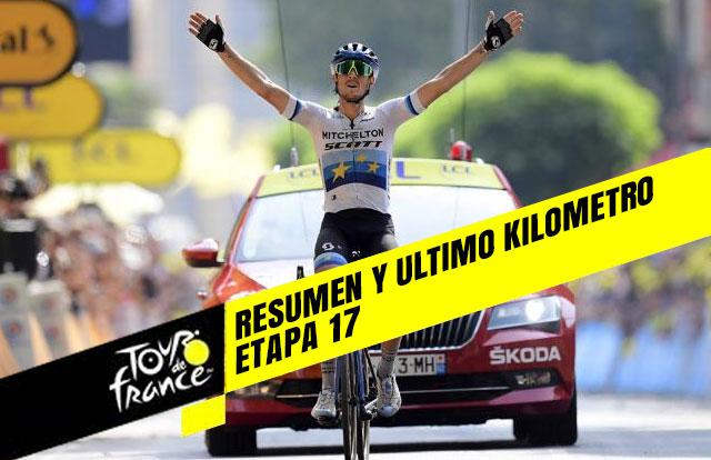 Tour de Francia 2019 (Etapa 17) Resumen y Ultimo Kilometro