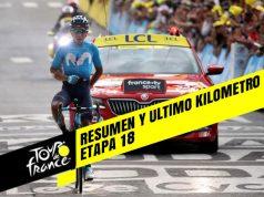 Tour de Francia 2019 (Etapa 18) Resumen y Ultimo Kilometro