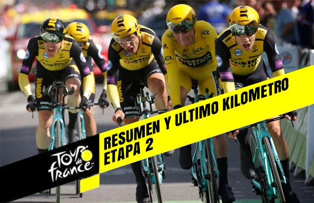 Tour de Francia 2019 (Etapa 2) Resumen y Ultimo Kilometro