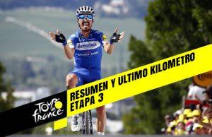 Tour de Francia 2019 (Etapa 3) Resumen y Ultimo Kilometro