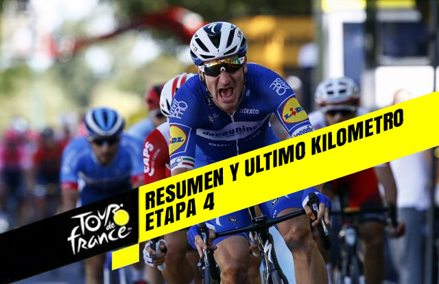 Tour de Francia 2019 (Etapa 4) Resumen y Ultimo Kilometro