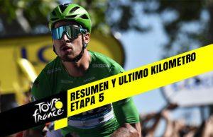 Tour de Francia 2019 (Etapa 5) Resumen y Ultimo Kilometro