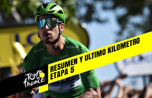 tour de francia 2019 etapa 5 resumen y ultimo kilometro