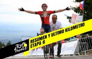 Tour de Francia 2019 (Etapa 6) Resumen y Ultimo Kilometro