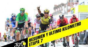 Tour de Francia 2019 (Etapa 7) Resumen y Ultimo Kilometro