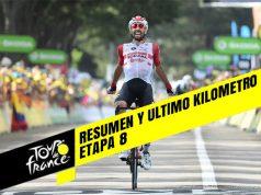 Tour de Francia 2019 (Etapa 8) Resumen y Ultimo Kilometro