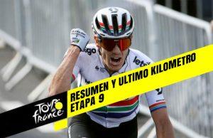 Tour de Francia 2019 (Etapa 9) Resumen y Ultimo Kilometro
