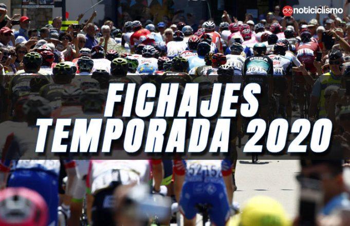 Fichajes del Ciclismo para la Temporada 2020