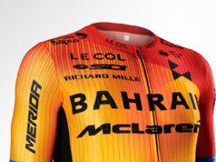 Bahrein McLaren Indumentaria 2020 ©Team Bahrain Merida