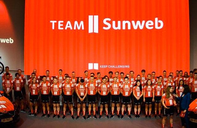 Team Sunweb 2020 ©Team Sunweb