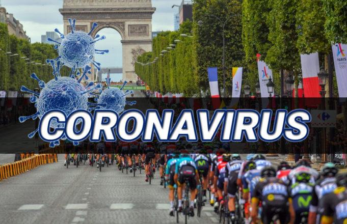 El coronavirus llega al ciclismo
