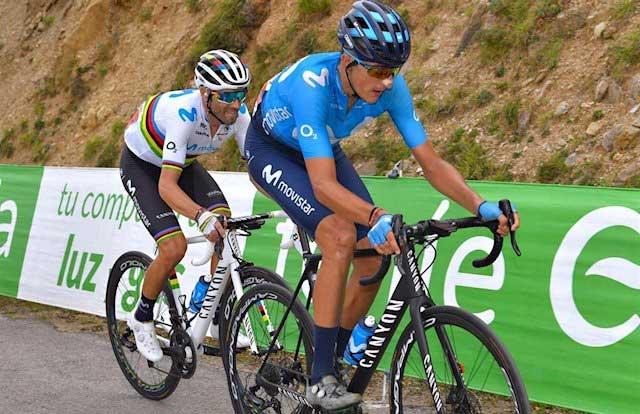 Marc Soler y Alejandro Valverde