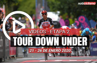 [VIDEO] Tour Down Under 2020 (Etapa 2) Últimos 5 Km y Resumen