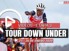 Tour Down Under 2020 (Etapa 3) Últimos 5 Km y Resumen