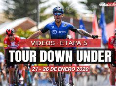 [VIDEO] Tour Down Under 2020 (Etapa 5) Últimos 5 Km y Resumen