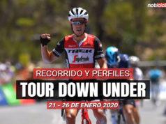 Tour Down Under 2020 - Previa
