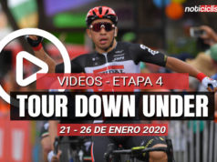 [VIDEO] Tour Down Under 2020 (Etapa 4) Últimos 5 kilómetros y Resumen