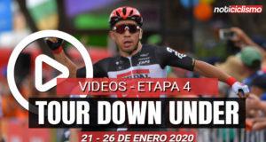 [VIDEO] Tour Down Under 2020 (Etapa 4) Últimos 5 kilómetros y Resumen