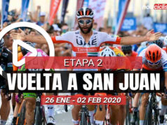 Vuelta a San Juan 2020 (Etapa 2) Últimos Kilómetros