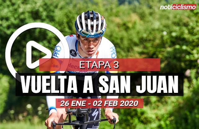 Vuelta a San Juan 2020 (Etapa 3) Últimos Kilómetros