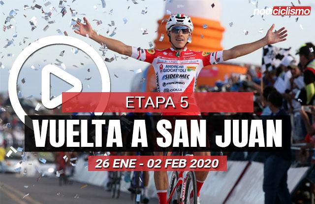 Vuelta a San Juan 2020 (Etapa 5) Últimos Kilómetros