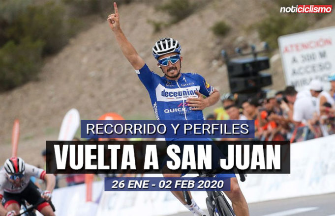 Vuelta a San Juan 2020: Recorrido y Perfiles