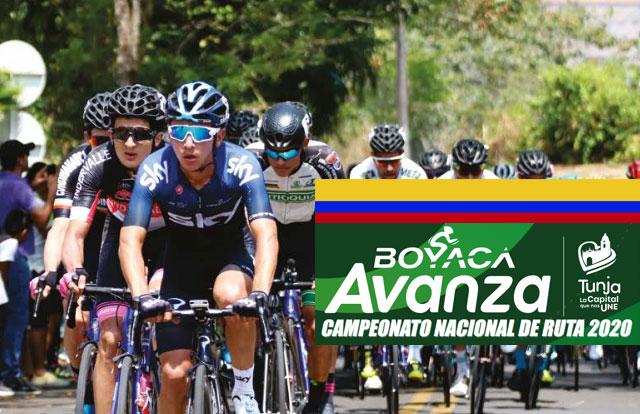 Campeonato Nacional Colombiano de Ruta Elite 2020: Listado de Ciclistas Inscritos