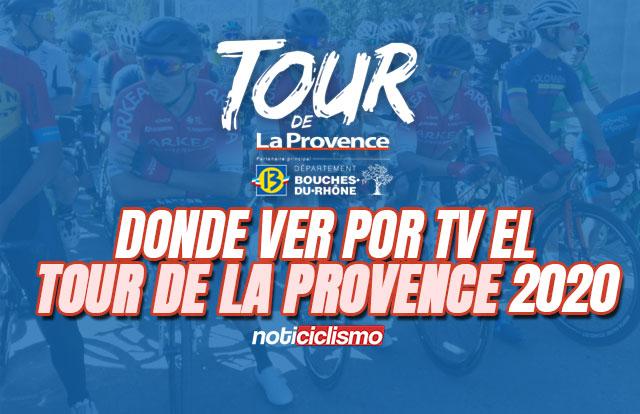 Donde ver por TV el Tour de la Provence 2020