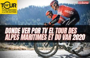 Donde ver por TV el Tour des Alpes Maritimes et du Var 2020