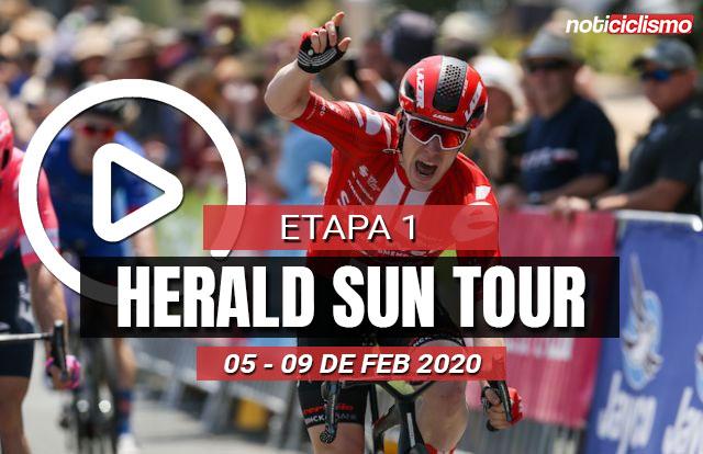 Herald Sun Tour 2020 (Etapa 1) Últimos Kilómetros