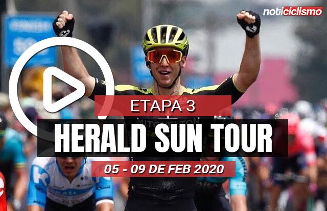 [VIDEO] Harald Sun Tour 2020 (Etapa 3) Últimos Kilómetros