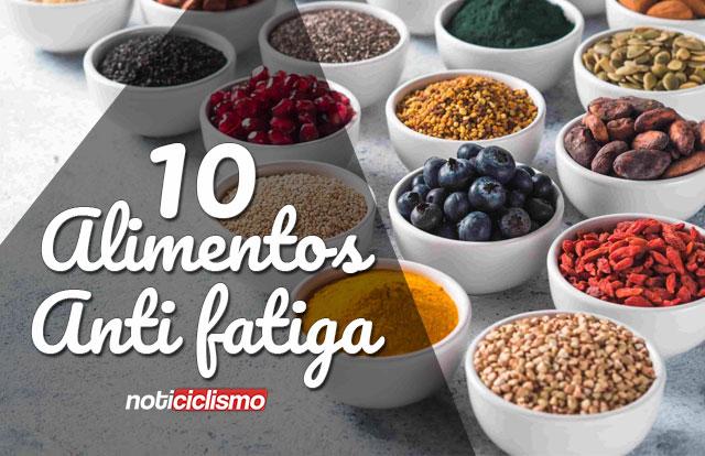 Los 10 Alimentos más Energizantes para los Ciclistas