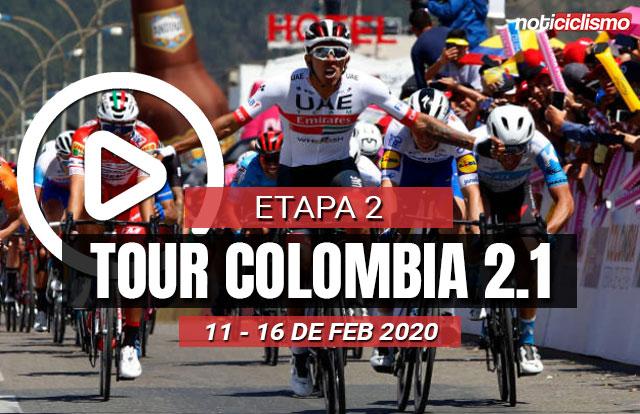 Tour Colombia 2020 (Etapa 2) Últimos Kilómetros