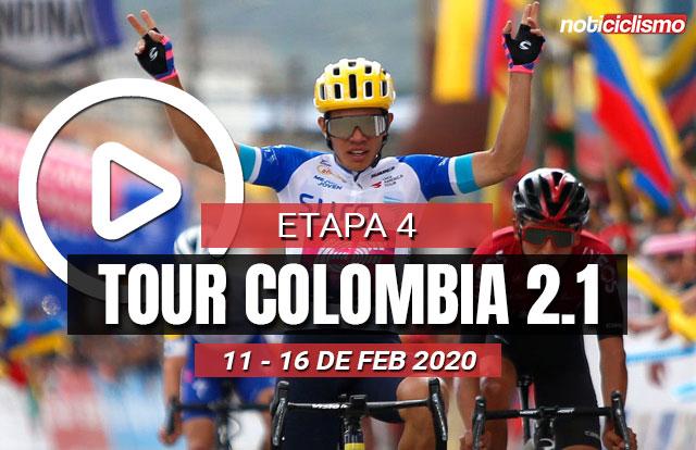 Tour Colombia 2020 (Etapa 4) Últimos Kilómetros