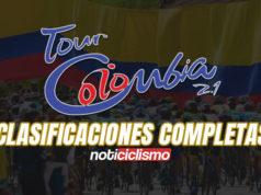 Tour Colombia 2020 - Clasificaciones Completas