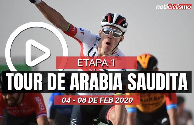 Tour de Arabia Saudita 2020 (Etapa 1) Últimos Kilómetros