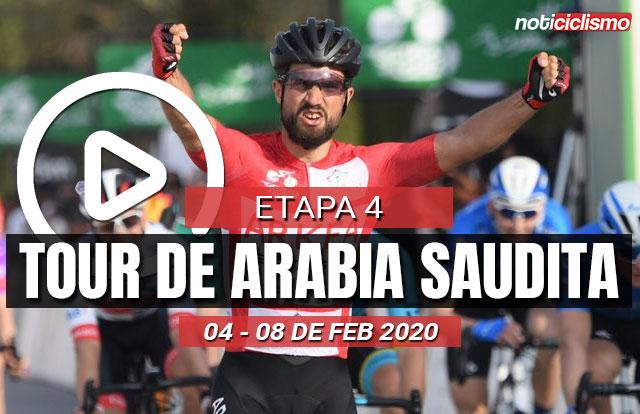 Tour de Arabia Saudita 2020 (Etapa 4) Últimos Kilómetros