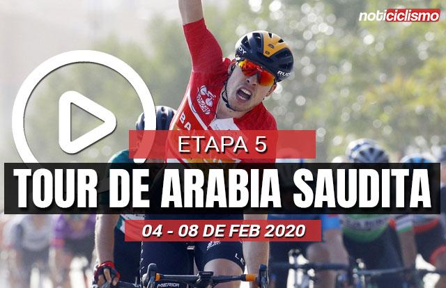 Tour de Arabia Saudita 2020 (Etapa 5) Últimos Kilómetros