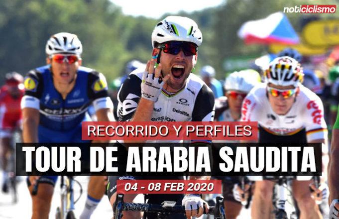Tour de Arabia Saudita 2020 - Recorrido y Perfiles de etapas