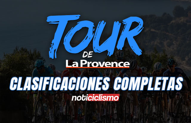 Tour de la Provence 2020 - Clasificaciones Completas