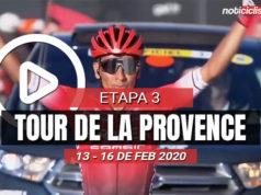 [VIDEO] Tour de la Provence 2020 (Etapa 3) Últimos Kilómetros