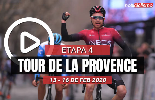 Tour de la Provence 2020 (Etapa 4) Últimos Kilómetros
