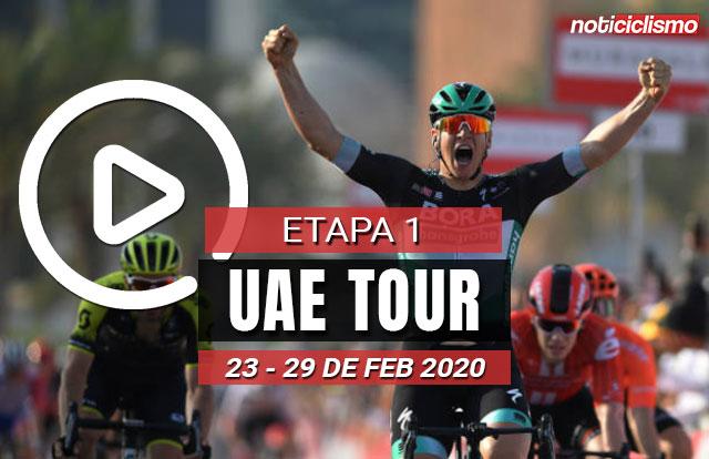UAE Tour 2020 (Etapa 1) Últimos Kilómetros
