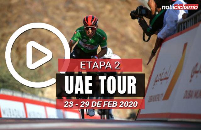 [VIDEO] UAE Tour 2020 (Etapa 2) Últimos Kilómetros