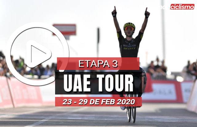 [VIDEO] UAE Tour 2020 (Etapa 3) Últimos Kilómetros