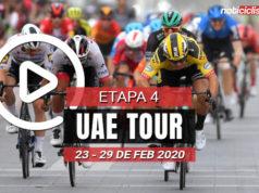 [VIDEO] UAE Tour 2020 (Etapa 4) Últimos Kilómetros