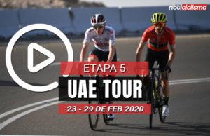 [VIDEO] UAE Tour 2020 (Etapa 5) Últimos Kilómetros