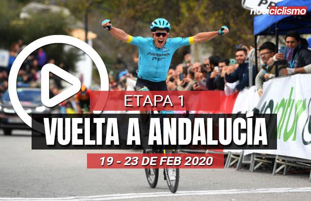 Vuelta a Andalucía 2020 (Etapa 1) Últimos Kilómetros
