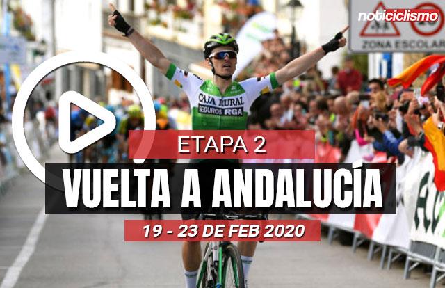 [VIDEO] Vuelta a Andalucía 2020 (Etapa 2) Últimos Kilómetros
