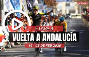Vuelta a Andalucía 2020 (Etapa 4) Últimos Kilómetros
